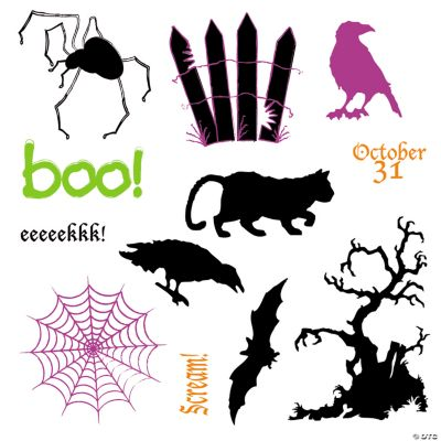 """""""Boo"""" Stamps"""