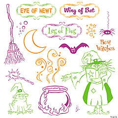 Witches Brew Stamps