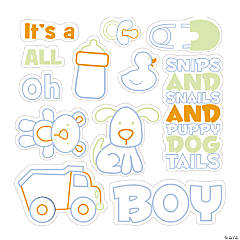 It's A Boy Stamps
