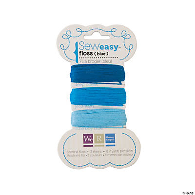 We R Memory Keepers® Sew Easy™ Blue Floss