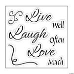 Live Laugh Love Stamps