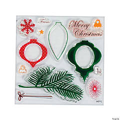 Christmas Ornament Stamps