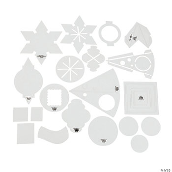 Christmas Photo Frame Ornament Templates