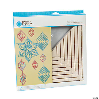 Martha Stewart Crafts™ Large Spiral Ornament Template