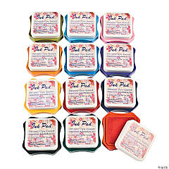Marvy® Ink Pad Set. Includes a dozen 21/2