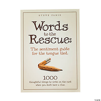 """Words To the Rescue"""
