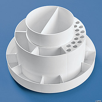 Round Desktop Supply Organizer