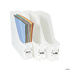 Frosted Paper Holders