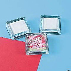 DIY Square Paperweights