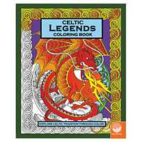image of celtic legends coloring book with sku66008 - Celtic Coloring Book