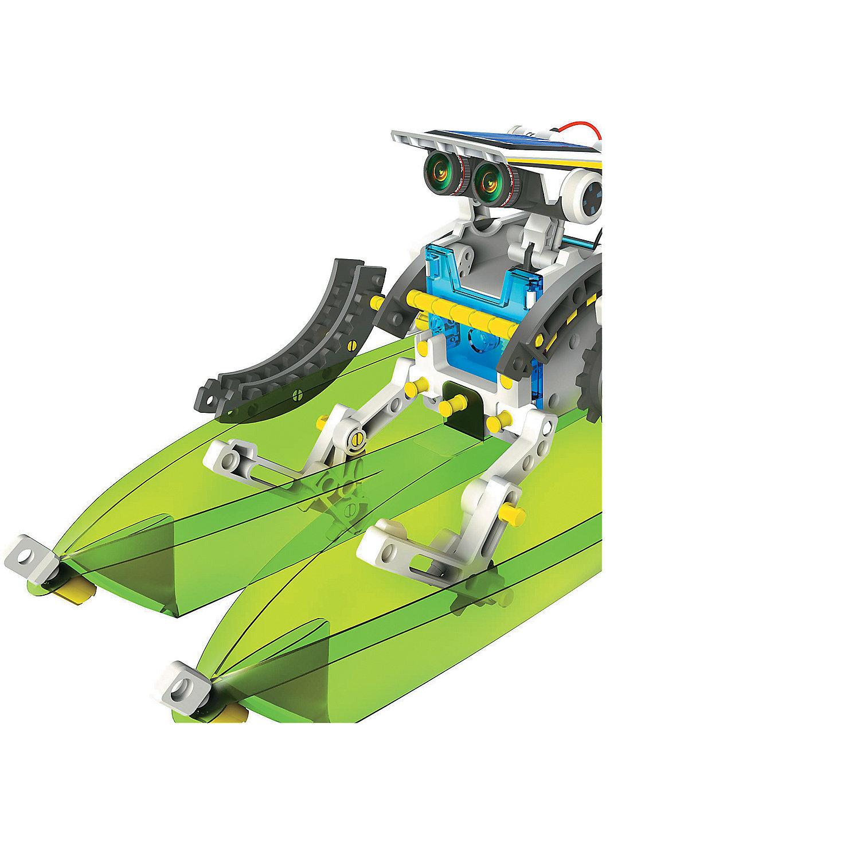 14 in 1 educational solar robot kit instructions
