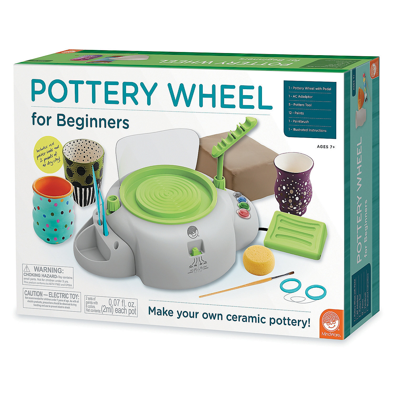 Pottery Wheel For Beginners Creative Activities Craft Activities