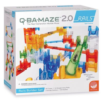 q ba maze 2.0 mega stunt set instructions