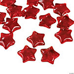 Red Star Beads - 11mm