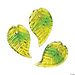 Green Leaf Beads - 20mm