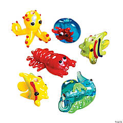 Under the Sea Lampwork Glass Beads - 8mm-20mm