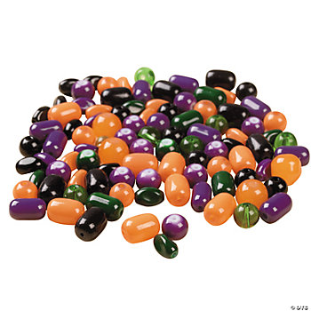 Halloween Colors Glass Bead Assortment - 8mm-12mm