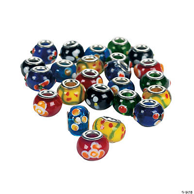 Bumpy Large Hole Beads - 10mm