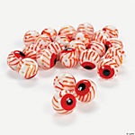 Bloodshot Eyeball Lampwork Beads - 12mm
