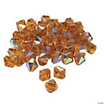 Topaz AB Crystal Bicone Beads - 8mm