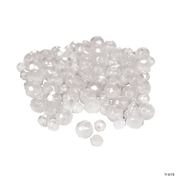 Moonstone Cut Crystal Round Beads - 4mm-6mm