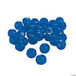 Sapphire Cut Crystal Round Beads - 8mm