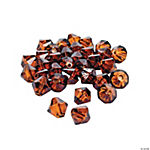 Chocolate Brown Crystal Bicone Beads - 8mm
