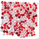Red, Pink & Clear Crystal Assortment - 4mm-6mm