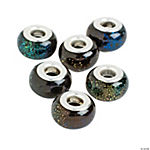 Dichroic Large Hole Beads - 15mm