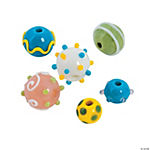 Pastel Lampwork Rounds - 9mm-15mm