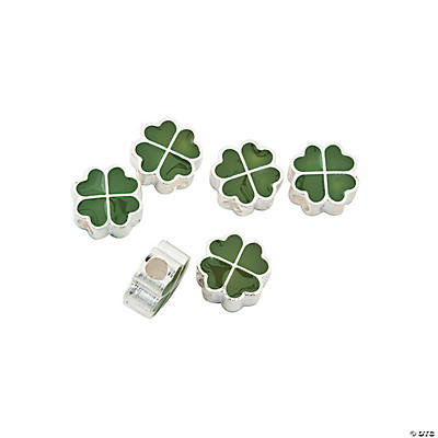Shamrock Large Hole Beads - 11mm