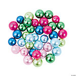 Large Bright Color Pearl Bead Assortment - 13mm-15mm