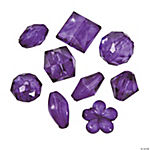 Purple Bead Assortment - 12mm - 15mm