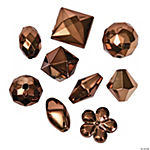 Copper-Tone Bead Assortment - 12mm - 15mm