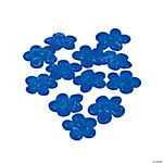 Blue Flower Lampwork Beads - 16mm