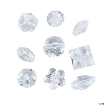 Clear Bead Assortment - 15mm