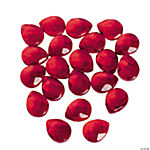 Garnet Briolette Faceted Beads - 15mm