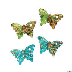 Butterfly Pendants - 26mm x 19mm