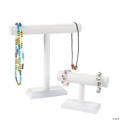 White Bracelet & Necklace Bars