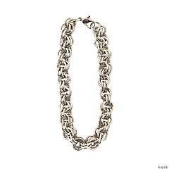 Antique Silvertone Metal Multi-Ringed Chain Bracelets