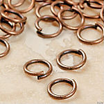Copper-Tone Metal Jumprings