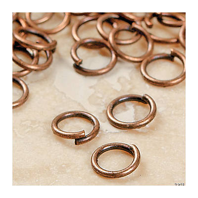 Copper-Tone Metal Jumprings - 4mm