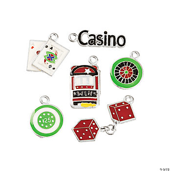 Casino Enamel Charms