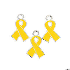 Yellow Ribbon Charms