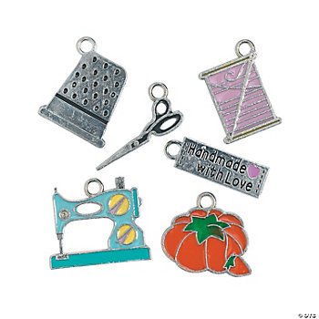 Sewing Enamel Charms