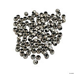 Antique Silvertone Crimp Beads