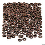 Copper Daisy Spacer Beads - 6mm