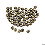 Antique Goldtone Round Beads - 4mm