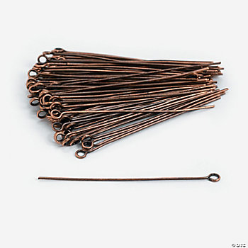 Copper-Tone Eyepins - 2