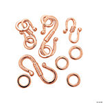 Copper-Tone Large & Small S-Hooks
